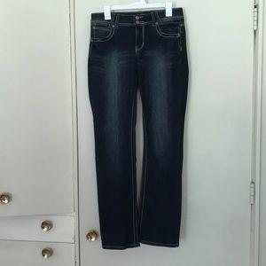 Revolt Jeans with jeweled rear pockets